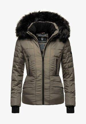 ADELE - Winter jacket - grey olive