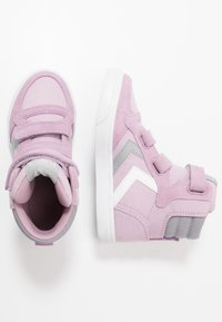 Hummel - STADIL HIGH JR - High-top trainers - mauve shadow - 0