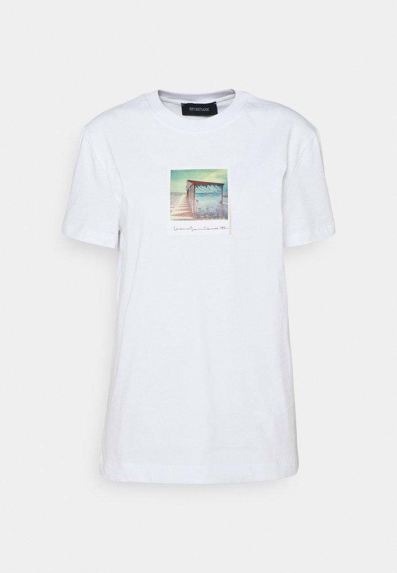 Sportmax - BULL - Print T-shirt - weiss