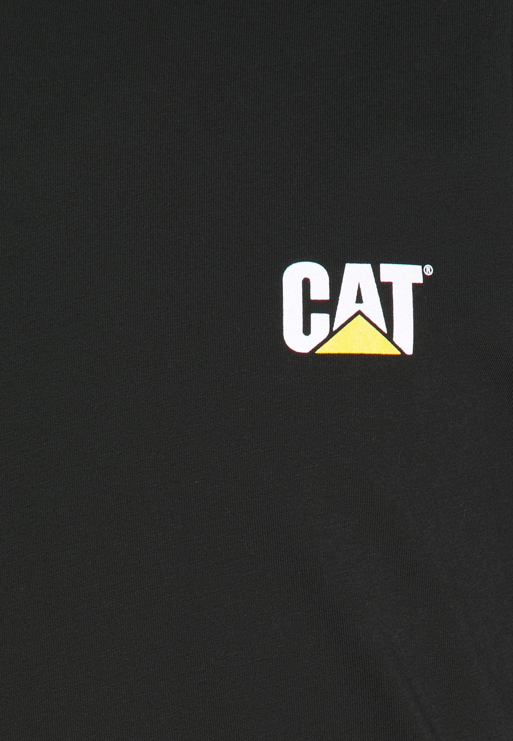 Caterpillar Small Logo - T-shirts Black/svart