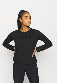 Champion - LONG SLEEVE LEGACY - Top s dlouhým rukávem - black - 0