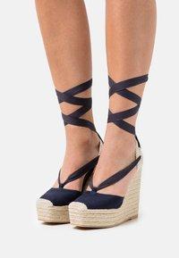 Polo Ralph Lauren - Platform sandals - navy - 0