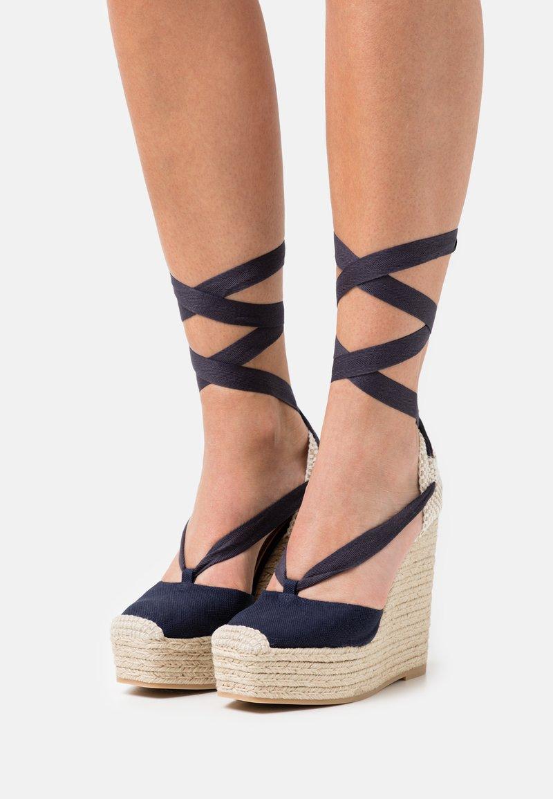 Polo Ralph Lauren - Platform sandals - navy