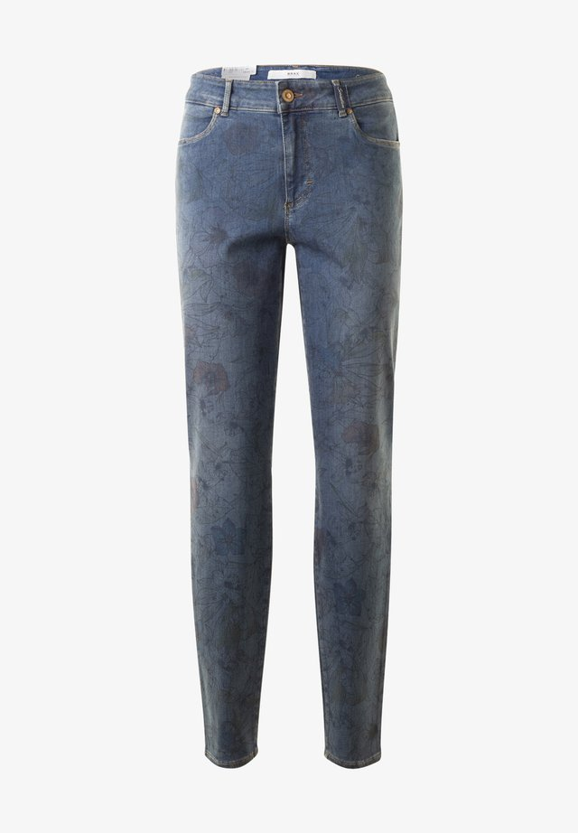 STYLE SHAKIRA - Jeans Skinny Fit - flowerprint