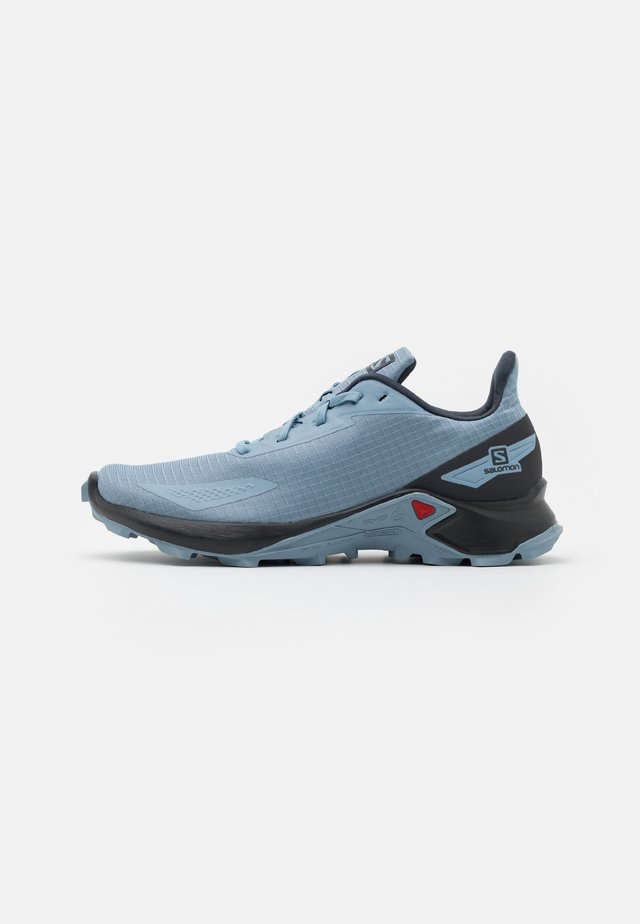 ALPHACROSS BLAST - Trail running shoes - ashley blue/ebony