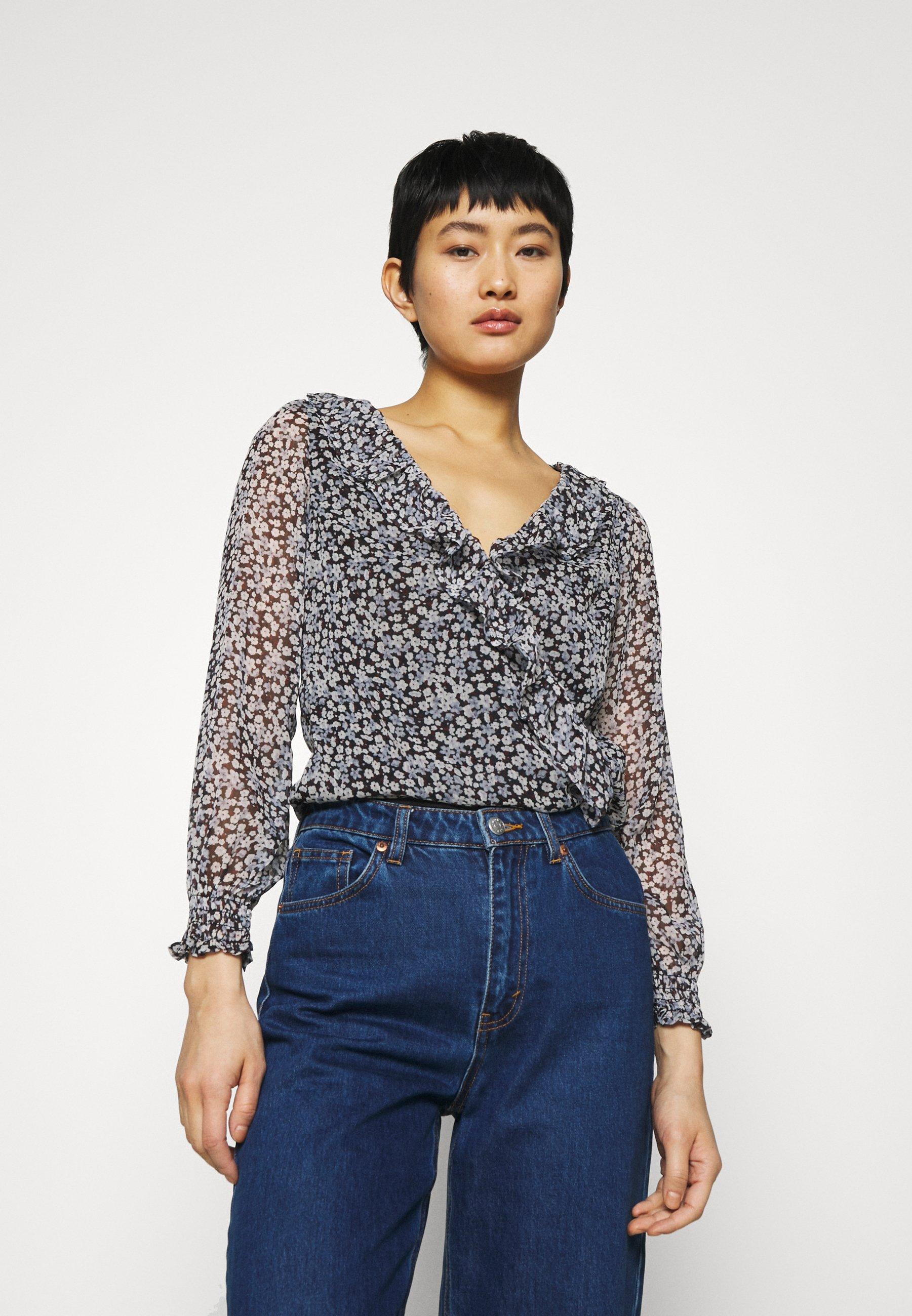 Women RUFFLE BODYSUIT - Long sleeved top