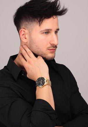 Watch - schwarz/gold