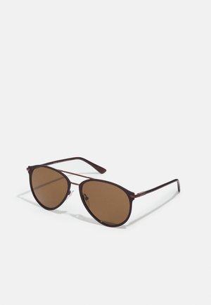 Sunglasses - matte brunished