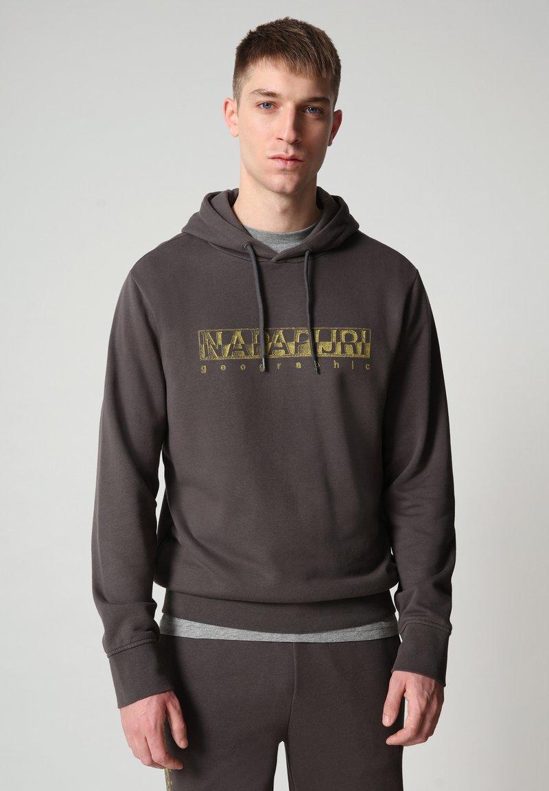 Napapijri - BALLAR  - Hoodie - dark grey solid
