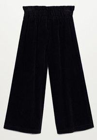 Mango - LINA - Trousers - černá - 1