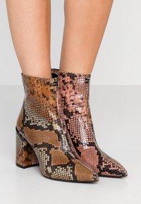 Zadig & Voltaire - GLIMMER WILD - Classic ankle boots - multicolor - 0