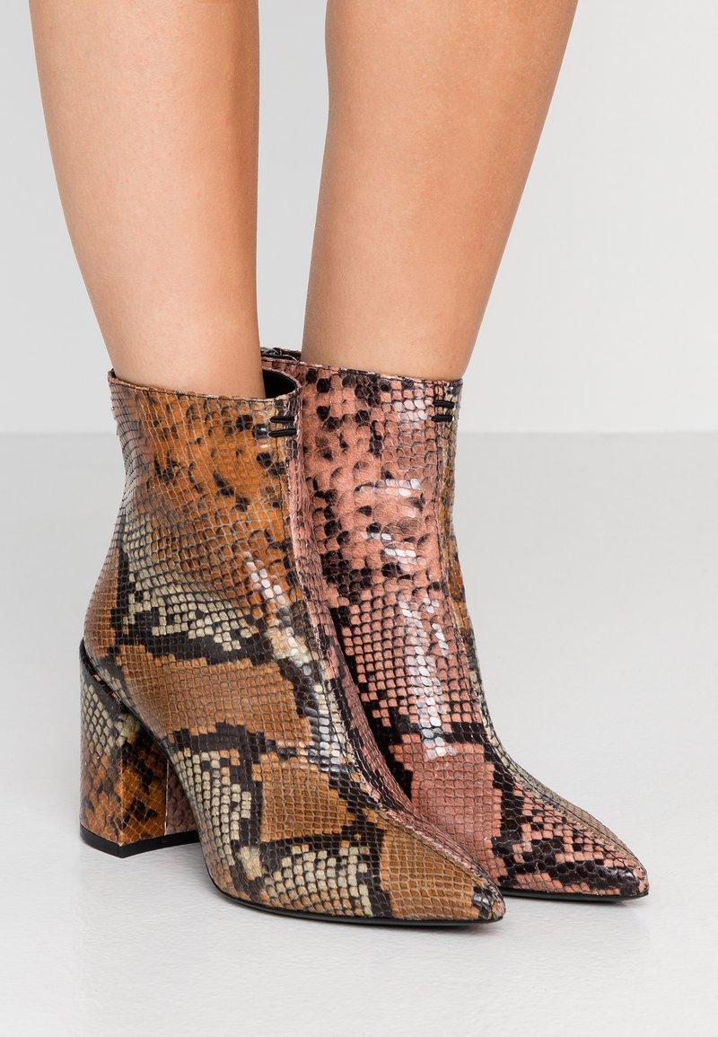 Zadig & Voltaire - GLIMMER WILD - Classic ankle boots - multicolor