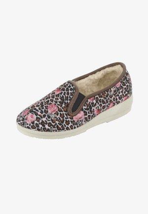 Slippers - braun