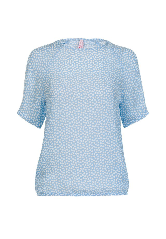 SUZAN - Blouse - m.pearl blue