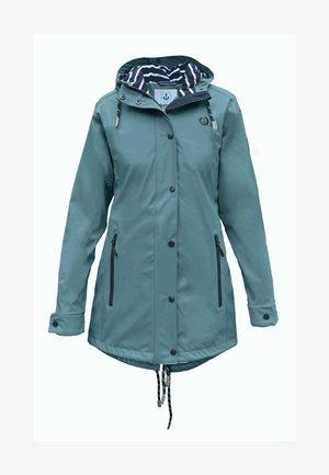 Waterproof jacket - petrolblau