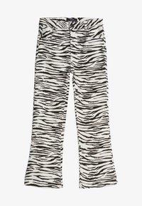 Bershka - Trousers - dark grey - 4