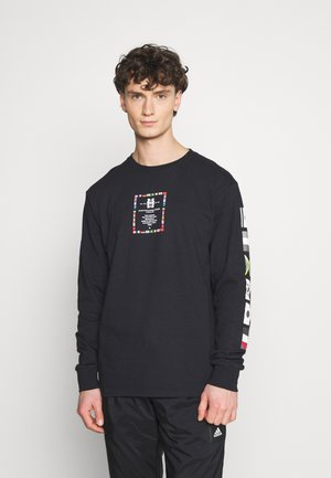 FLAG ATELIER - Long sleeved top - black
