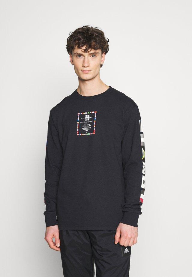 FLAG ATELIER - Langærmede T-shirts - black
