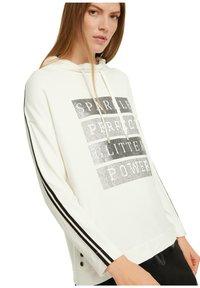 comma casual identity - Sweatshirt - light cream placeed print - 4