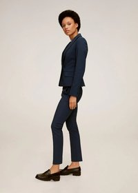 Mango - COFI7-N - Spodnie materiałowe - bleu marine foncé - 3