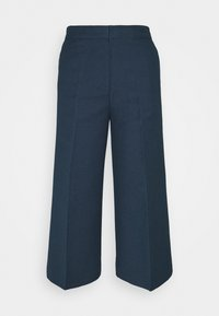TESSA - Trousers - navy blazer