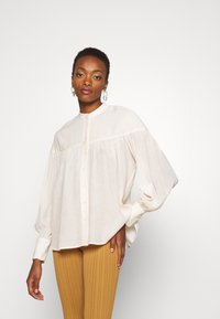 By Malene Birger - REIBENA - Button-down blouse - cream - 0