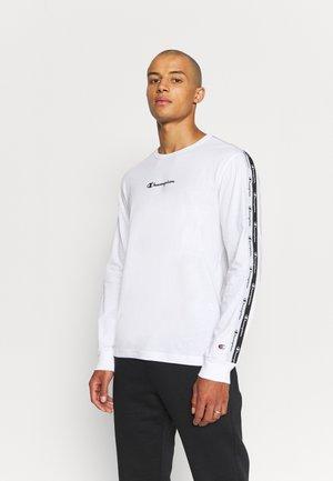 LONG SLEEVE CREWNECK - Langærmede T-shirts - white