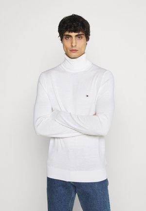 FINE GAUGE LUXURY ROLL - Maglione - white