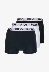 Fila - TRUNK 3 PACK - Onderbroeken - white/black/navy - 3