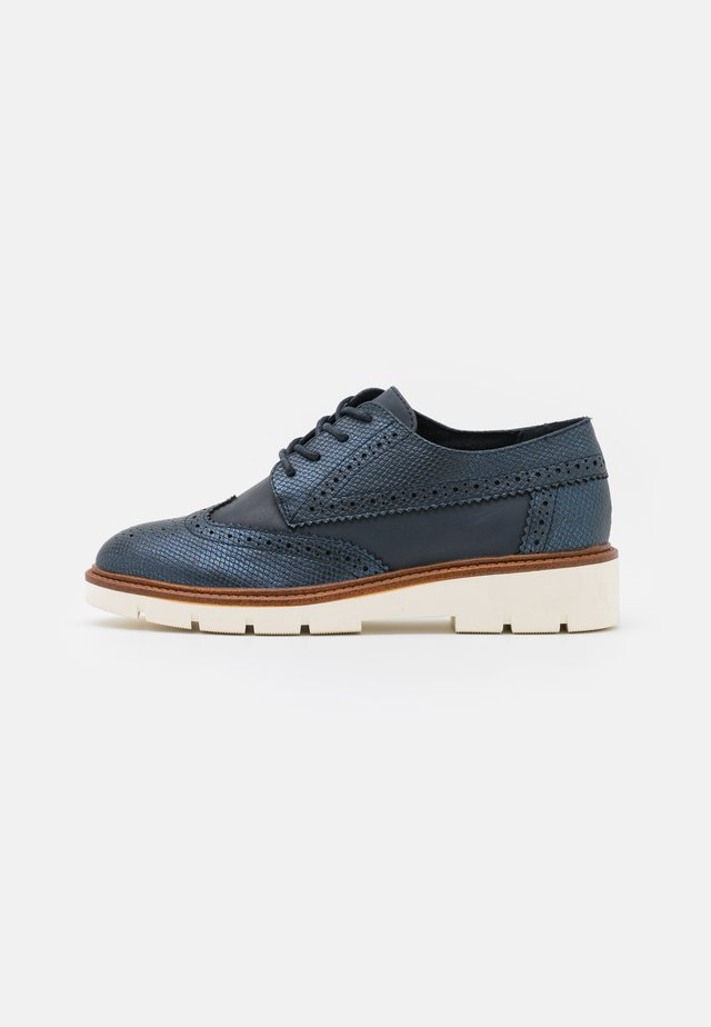 LACE UP - Lace-ups - navy