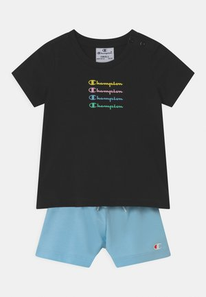 CHAMPION X ZALANDO SUMMER SET UNISEX - Tracksuit - black