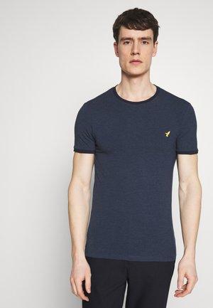 Basic T-shirt - mottled blue