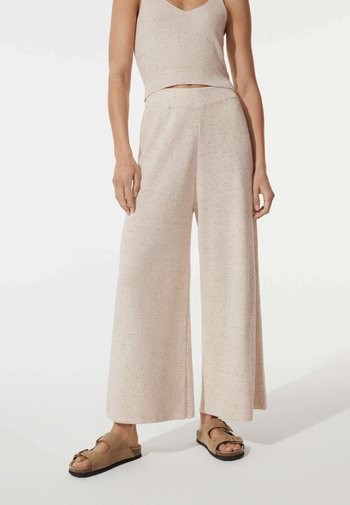 Pantalon classique - beige