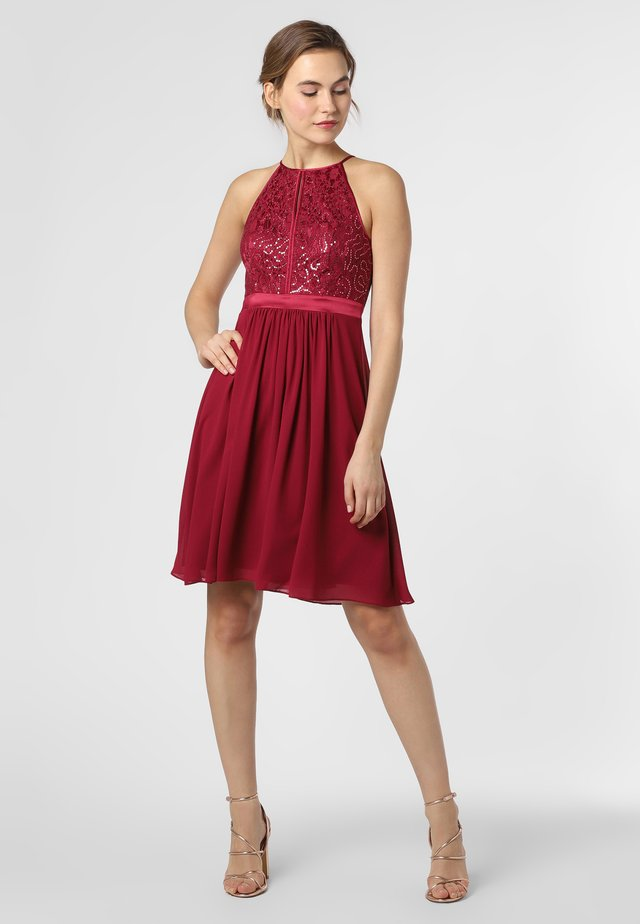 Cocktail dress / Party dress - himbeer