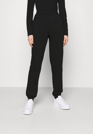 LOVELY PANTS - Tracksuit bottoms - black