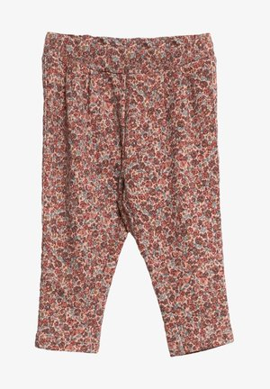 Trousers - misty rose flowers