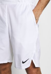 Nike Performance - Sports shorts - white/black - 4