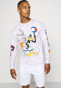 Tommy Jeans - ABO TJU X SPACE JAM TEE UNISEX - Long sleeved top - lilac dawn - 3