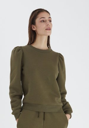 Sweatshirt - ivy green