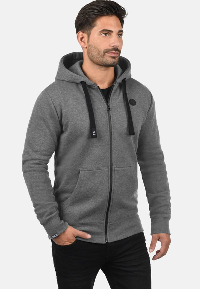 BENE - Zip-up hoodie - grey melange