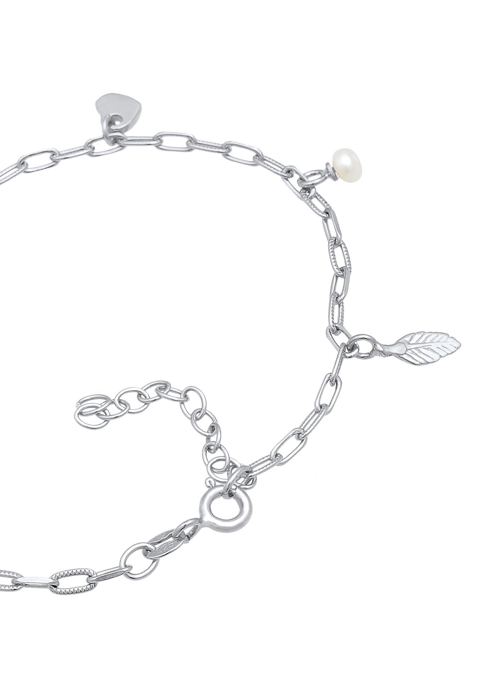 Damen CROSS HEART LEAF - Armband