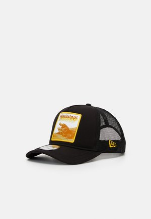 TRUCKER  - Gorra - black/yellow