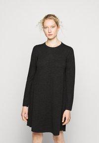 Repeat - DRESS - Jumper dress - dark grey - 0