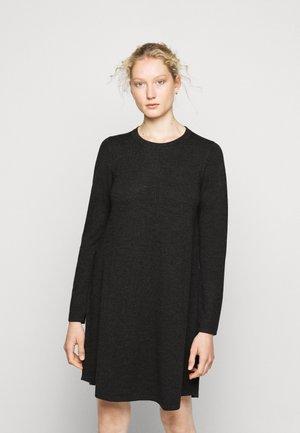 DRESS - Strikket kjole - dark grey