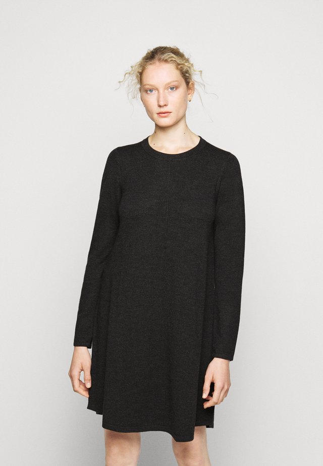 DRESS - Jumper dress - dark grey