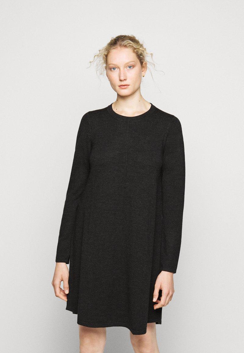 Repeat - DRESS - Jumper dress - dark grey