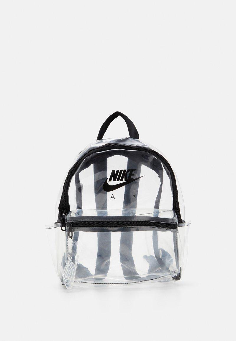 Nike Sportswear - JUST DO IT - Rucksack - clear/black