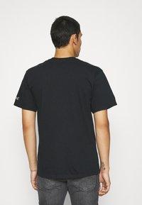 HUF - BONUS STAGE TEE - Print T-shirt - black - 2