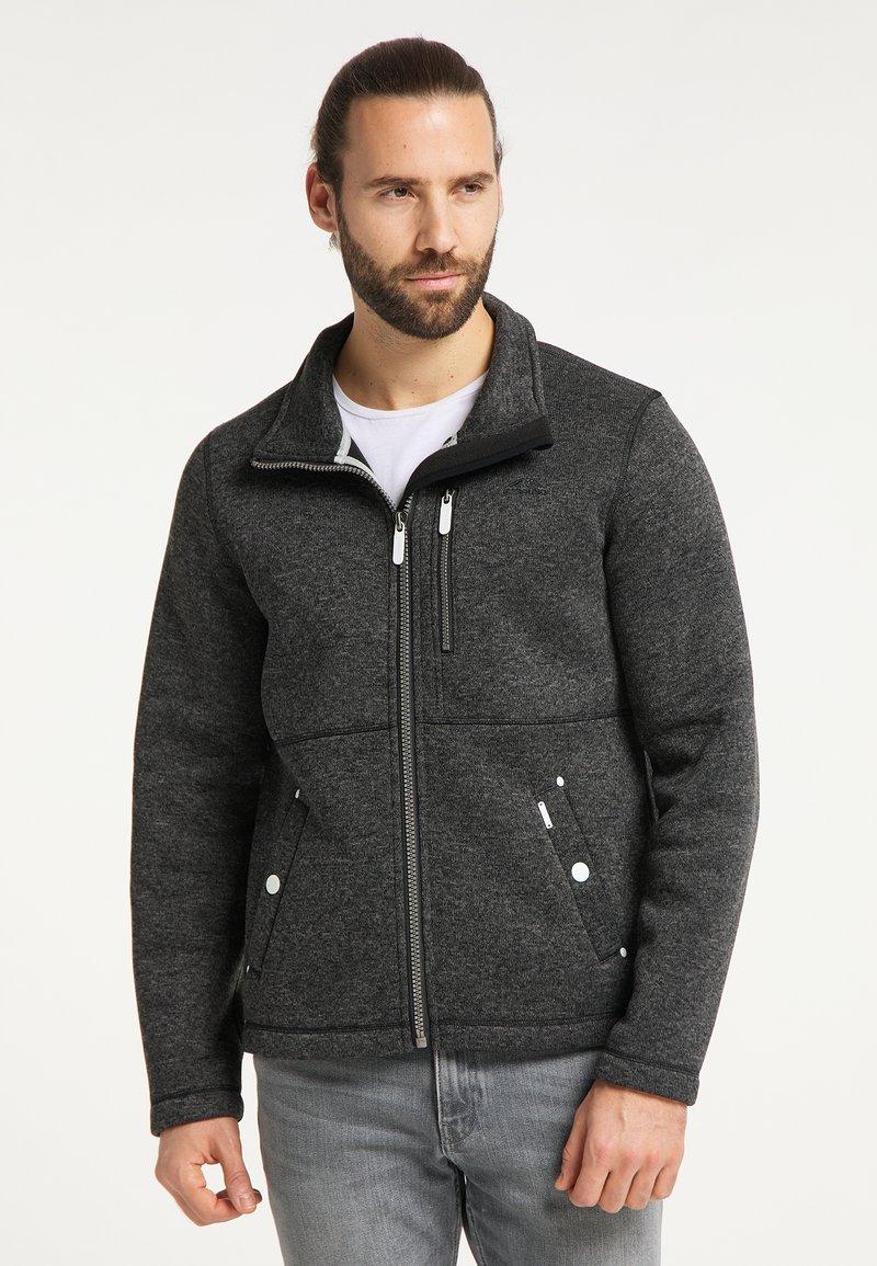 ICEBOUND - Fleece jacket - dunkelgrau melange