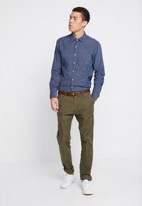 Replay - Shirt - blue/natural white - 1